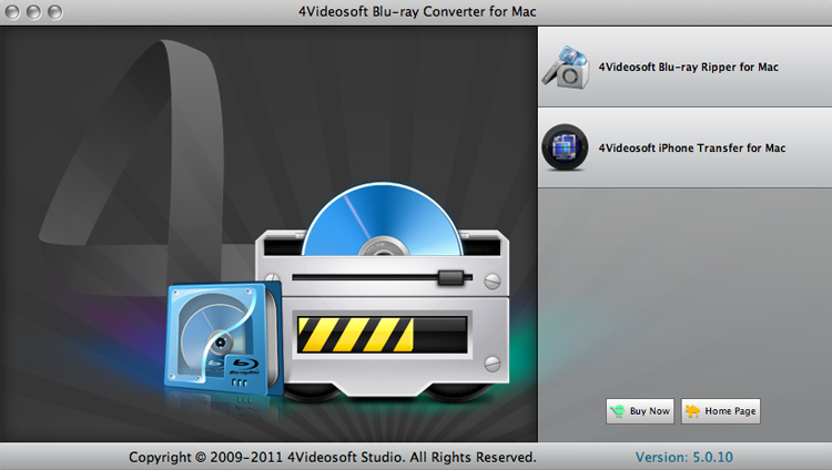 Blu-ray Converter for Mac screenshot
