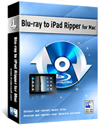 Blu-ray to iPad Ripper for Mac Box