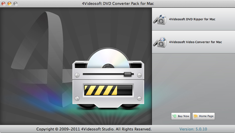 DVD Converter Pack for Mac screenshot