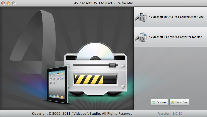 DVD to iPad Suite for Mac screenshot