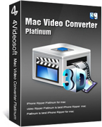 Mac Video Converter Platinum Box