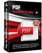 PDF Converter for Mac Box