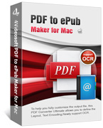 PDF to ePub Maker for Mac Box